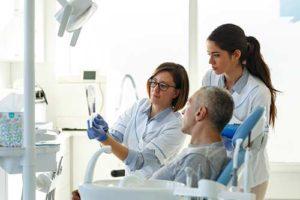 a man visits an emergency dentist